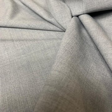 H: Silver Grey Wool & Lycra