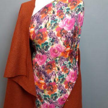 Italian Pure Wool Flowers