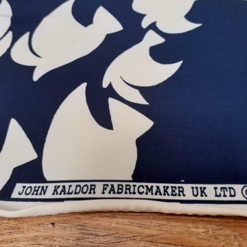 Last Chance To Buy 2m of JK Navy and Cream Jersey for £18
