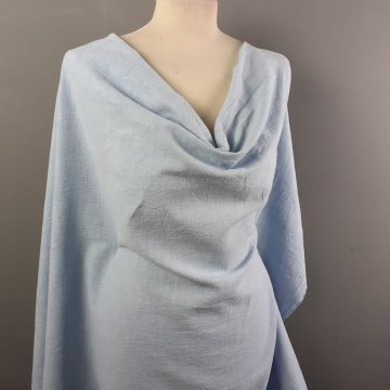 Baby Blue Washed Linen