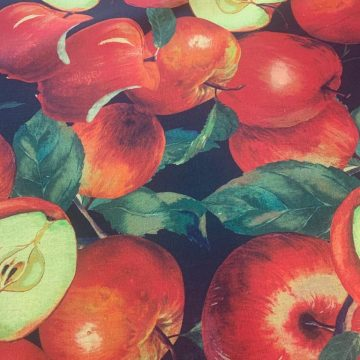 Red Apples on Italian Linen