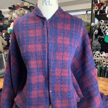 Italian Wool Check