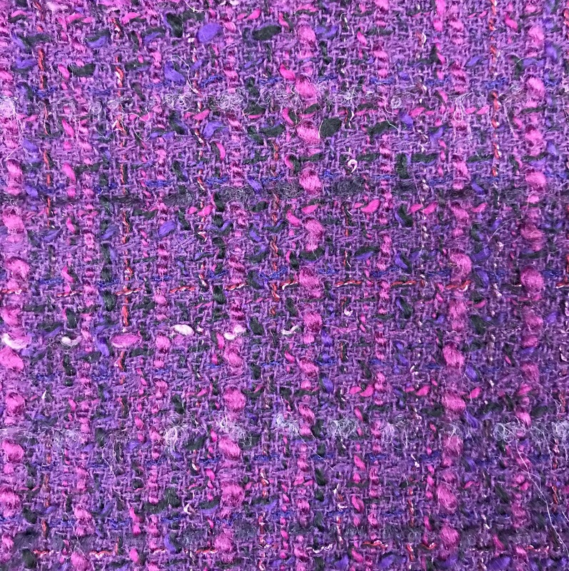 Chenille Wool Purple
