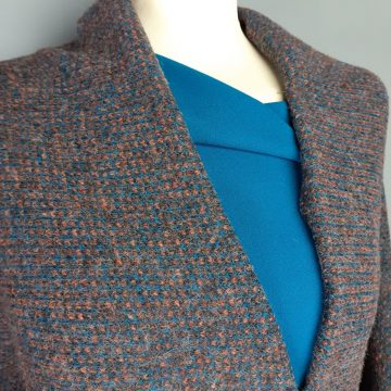 Colour Woven Soft Wool