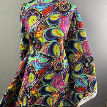 Italian Multi Coloured Medium-Weight Cotton