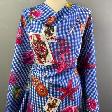 Queen of Hearts  Italian Linen