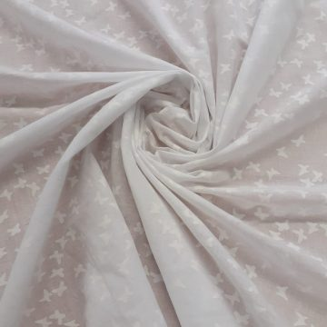 Last Chance To Buy 1.80m of White Cotton Butterflies for £5