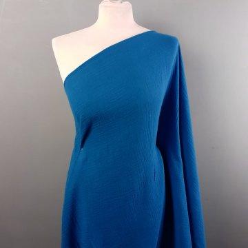 Royal Blue Soft Cotton Gauze