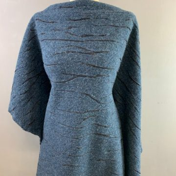Airforce Blue Italian Wool Mix