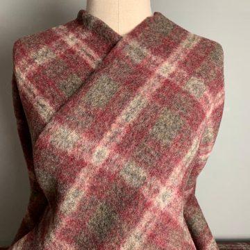 Italian Tartan Wool