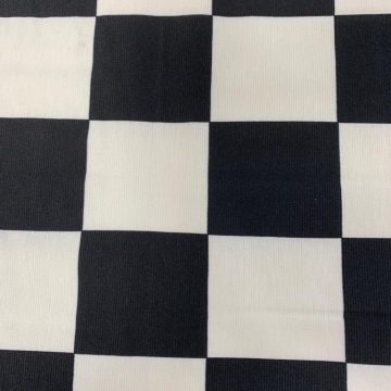 LAST CHANCE TO BUY 5.5mt for £20 Black/White Poly Lycra