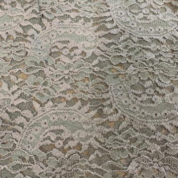 LAST CHANCE TO BUY 3.75mt for £12 STRETCH LACE POLYESTER LYCRA