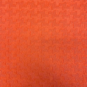 Cotton & Rayon Hot Orange