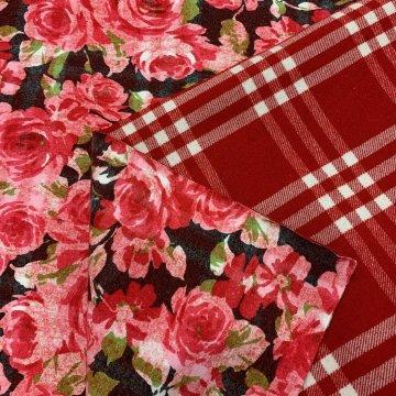 Reversible Red Wool