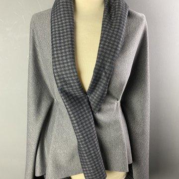 Reversible Jersey-Wool Knit
