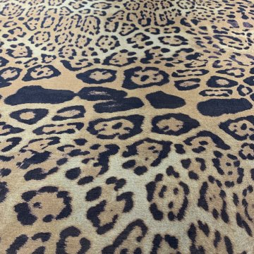 Silk & Nylon Animal Print