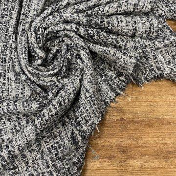 Silver Tones Italian Tweed