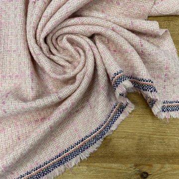 Pink Tones Italian Tweed