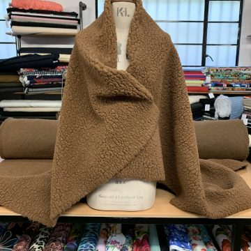 Teddy Bear Wool Cloth Last Metre Left