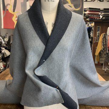 Reversible Italian Jersey-Wool