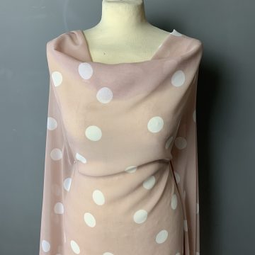 Last Chance To Buy 3.75m of Fine Georgette For £11