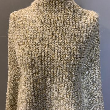 Last Chance To Buy 2.30m of Italian Sample Chunky Boucle For £30