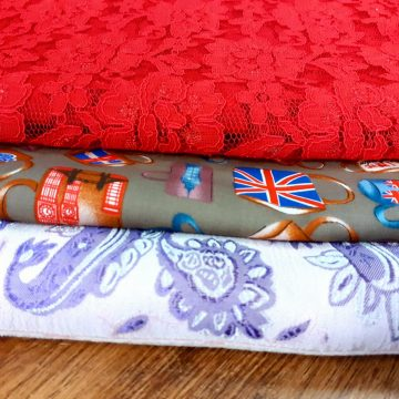 LAST CHANCE TO BUY 3 Mixed Fabrics for £25 Bundle 2A