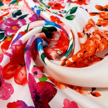 Bright Italian Silk