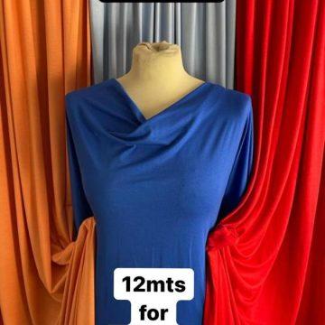 Viscose-Elastane Plain Jersey Bundle 12mt Total for just £30