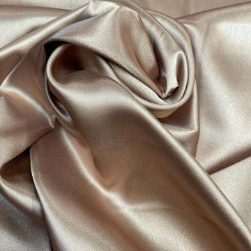 Light Gold Polyester Satin