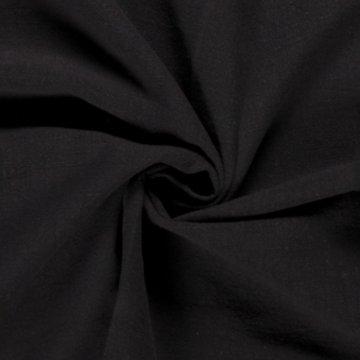 Black Washed Linen
