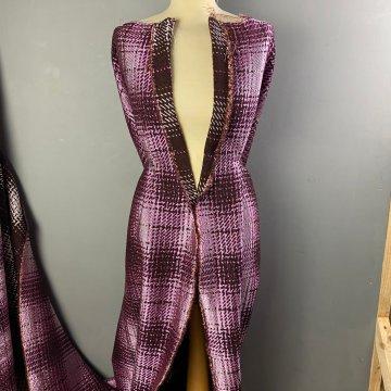 Purple Reversible Wool