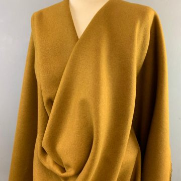 Warm Mustard Soft Wool Mix