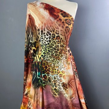 Colourful Animal Print Jersey