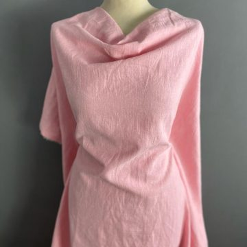 Baby Pink Washed Linen