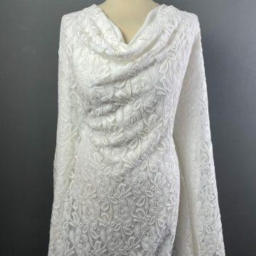 Winter White Lace