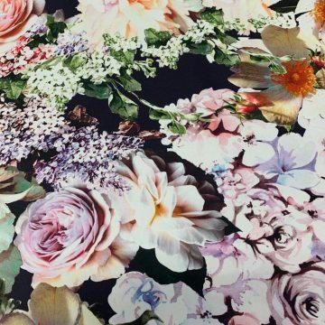 Cotton & Lycra Floral
