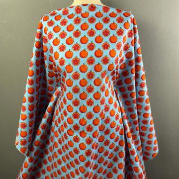 Oranges Blue Pure Cotton