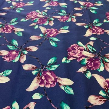 Cotton Sateen and Lycra 2.30mts LAST CHANCE TO BUY