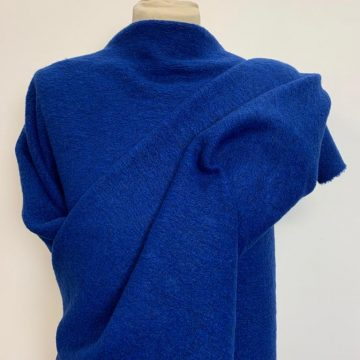 Wool Mix Marl Royal Blue