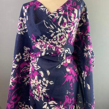 Linen and Rayon Purple