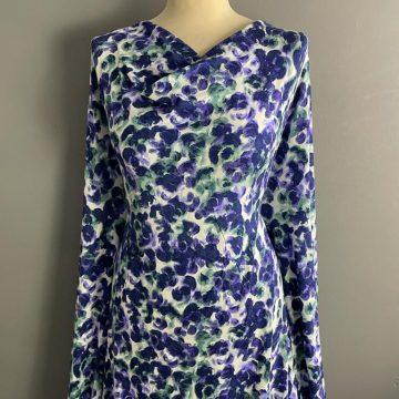 Purple Flower Jersey
