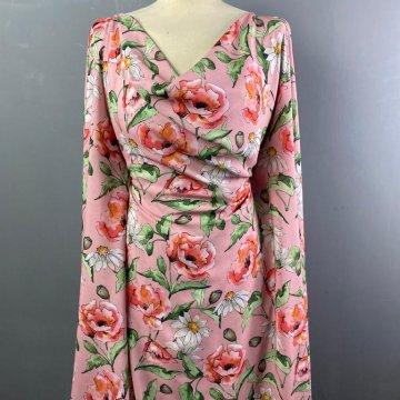 Italian Soft Silky Rayon Pinks