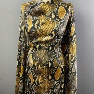 Snake Print Polyester