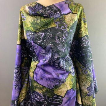 Purple Italian Pure Cotton
